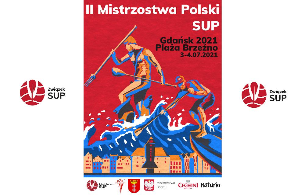 Uwaga! Zmiana terminu Mistrzostw Polski SUP Gdańsk 2021!